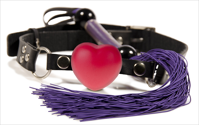 A picture of a collar to be worn by kinky friends in sub/dom play