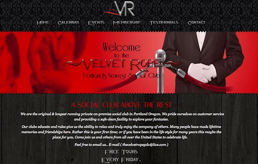 The Velvet Rope - Portland