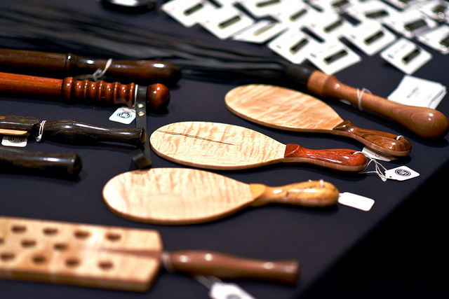 Image of Crops and Floggers on a Table