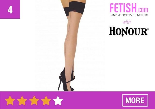 Cuban Heeled Stockings