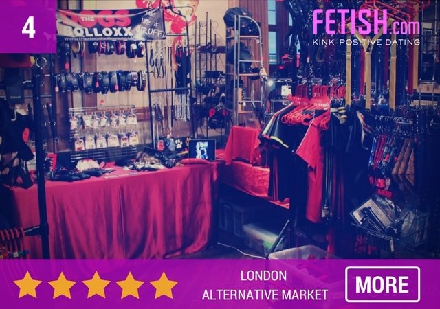London Alternative Market - Top rated Kinky things to do by Fetish.com