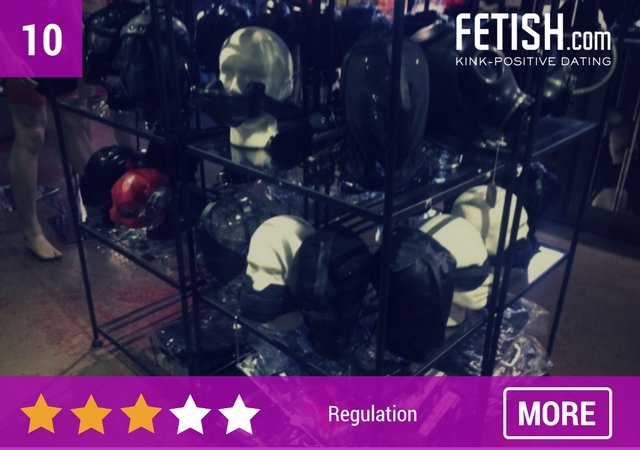 Regulation Male Fetish Wear - Top 10 Best Sex Shops in London