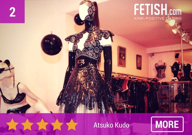 Atsuko Kudo Lingerie Collection - Top 10 Best Sex Shops in London