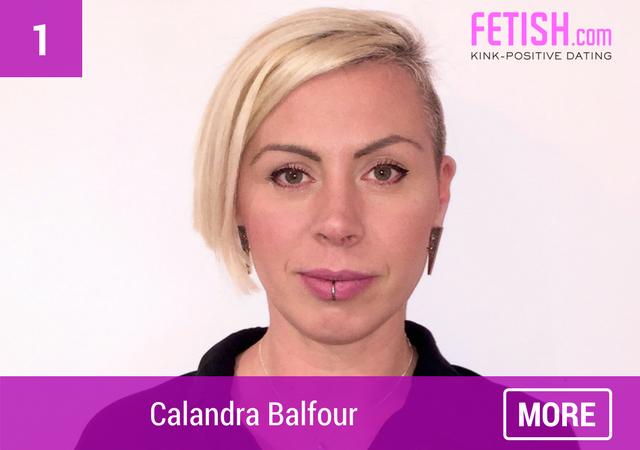 Calandra Balfour - Top Ten WCW for International Women's Day by Fetish.com