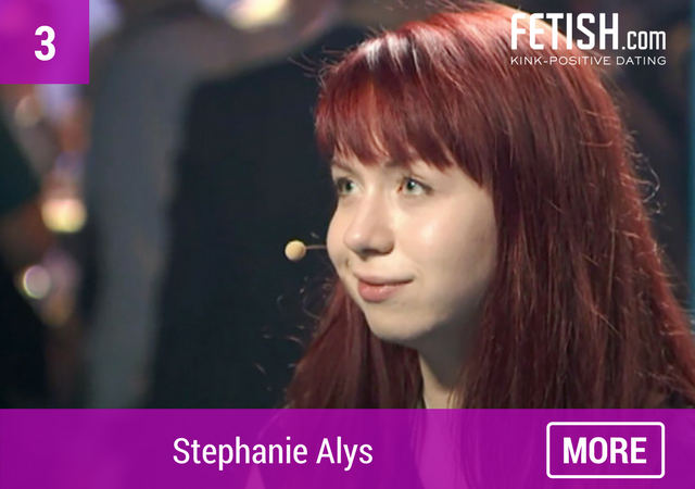 Stephanie Alys - Top Ten #WCW for International Women's Day by Fetish.com