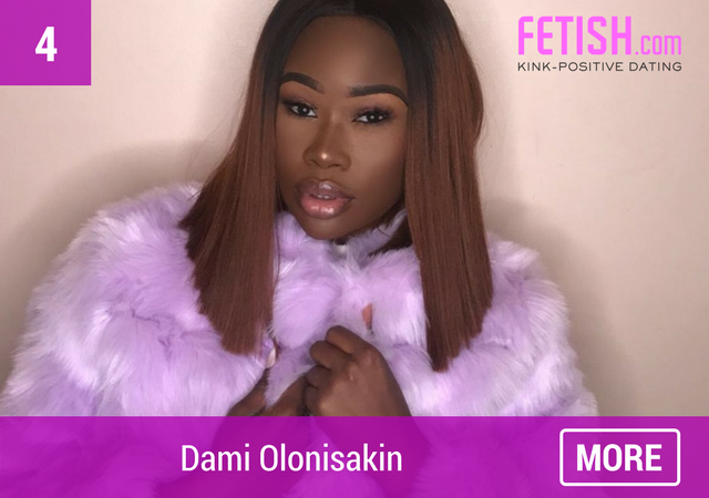 Simply Oloni - Top Ten #WCW for International Women's Day by Fetish.com