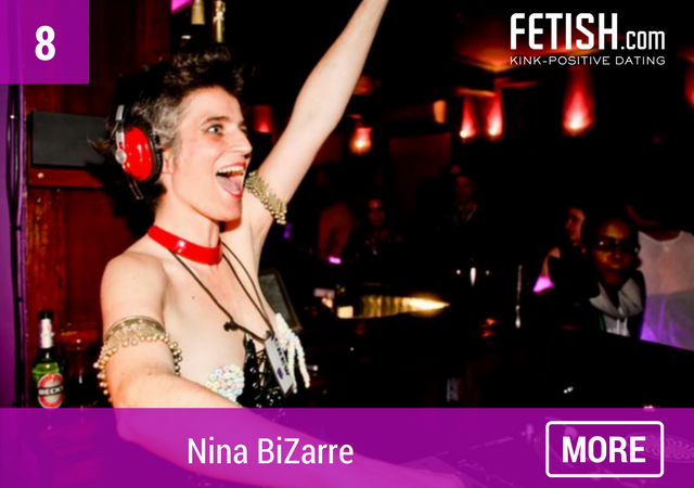 Nina BiZarre - Top Ten #WCW for International Women's Day by Fetish.com