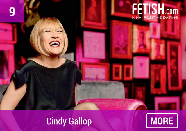 Cindy Gallop - Top Ten #WCW for International Women's Day by Fetish.com