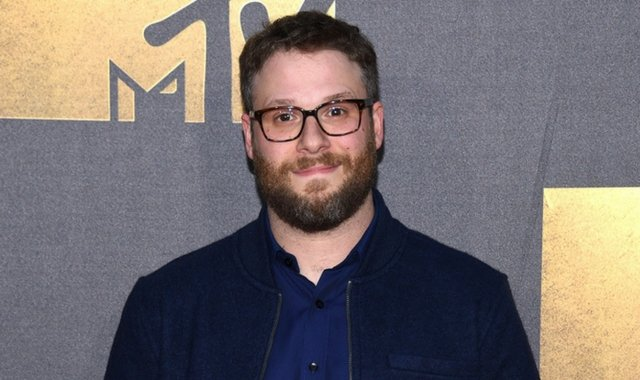 Seth Rogan at the MTV Movie Awards.