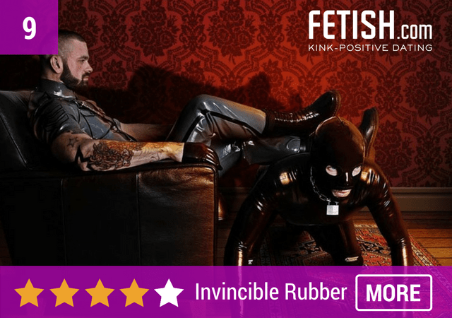invincible rubber fetish magazine bdsm kink dating
