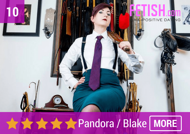 Pandora Blake BDSM Teacher - Top Erotic Art & Alternative Businesses in the UK