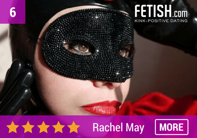 Rachel May Fetish Webmistress Portrait - Top Erotic Art & Alternative Businesses in the UK