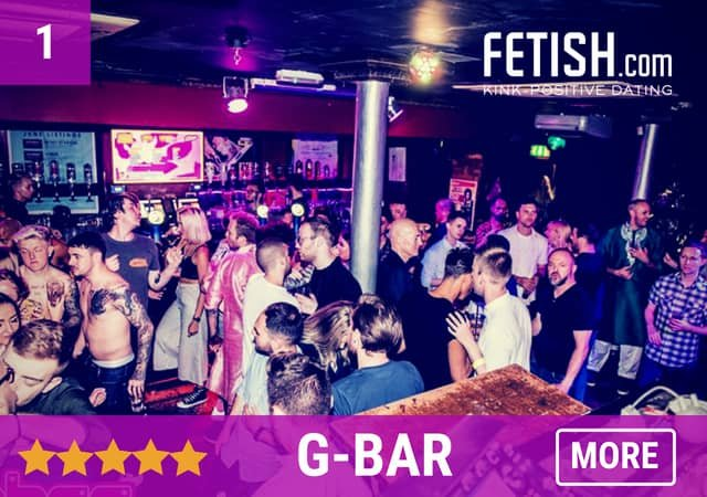 G-Bar - Fetish.com's Best Gay Bars, Clubs and Gay Saunas in the UK
