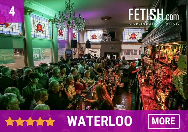 Waterloo - Fetish.com's Best Gay Bars, Clubs, and Gay Saunas in Glasgow