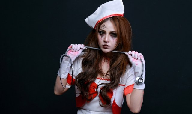 Sexy Halloween Nurse Outfit Fetish Wear
