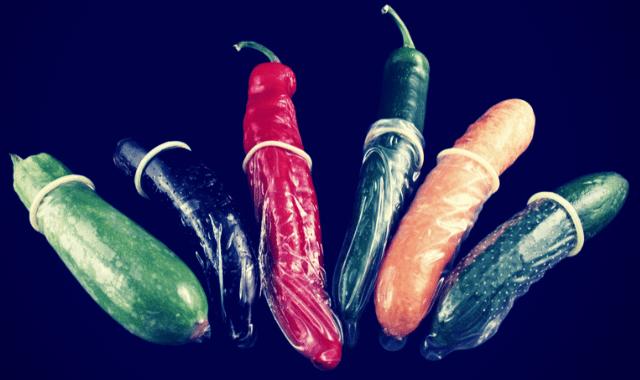 Vegetable replicas are among the top 10 weird sex toys