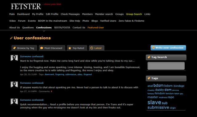 Image of the fetster.com forum